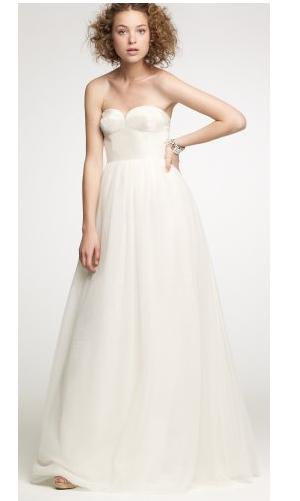 tulip bustier gown from j crew 180000