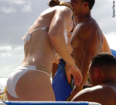 Jennifer lopez butt are