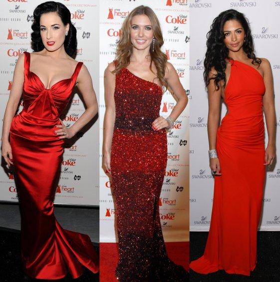 Украшения под красное платье в пол